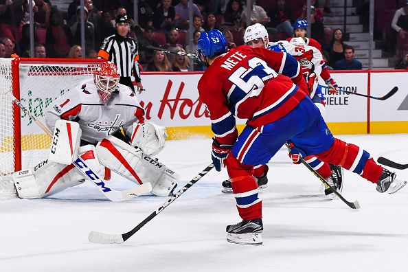 NHL: SEP 20 Preseason - Capitals at Canadiens