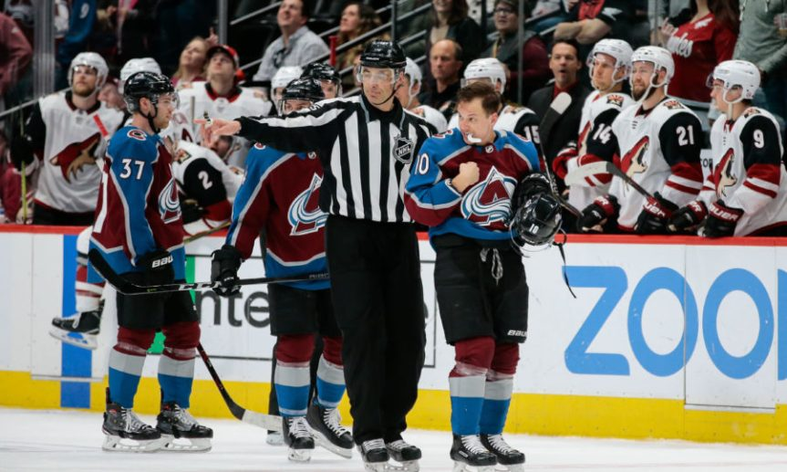 NHL: Arizona Coyotes at Colorado Avalanche
